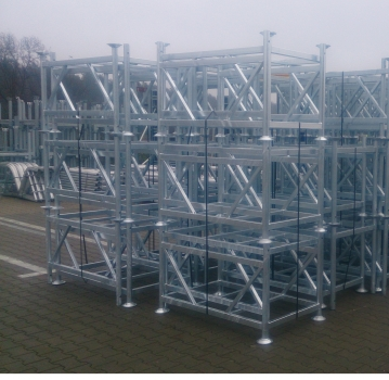 Modular pallets and net baskets